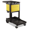 Rubbermaid Commercial Locking Cabinet, For Use With RCP Cleaning Carts (RCP6181YEL)