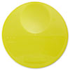 Rubbermaid Commercial Round Storage Container Lids, 10 1/4dia x 1h, Yellow (RCP5725YEL)