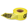 Empire Caution Barricade Tape, 3 in x 1000 ft (EML711001)