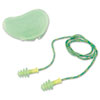 Howard Leight By Honeywell FUS30S-HP Fusion Multiple-Use Earplugs, Small, 27NRR, Corded, Green/White (HOWFUS30SHP)