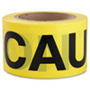 Ipg Caution Barricade Tape, 3 in x 300 ft (IPG600CC300)