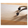Mammoth Office Products PVC Chair Mat for Hard Floors, 46 x 60, No Lip, Clear (MPVV4660RHF)
