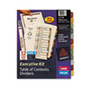Avery Ready Index Contents Dividers, 12-Tab, 1-12, Letter, Multicolor, 12/Set (AVE11278)