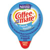 Coffee-Mate Liquid Coffee Creamer, Mini Cups, French Vanilla, 180/Box (NES35070)