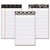 Tops Fashion Legal Pads with Assorted Headtapes, 5 x 8, 50 Sheets/Pad, 6 Pads/Pack (TOP30491)