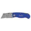 Great Neck Sheffield Folding Lockback Knife, 1 Blade, Blue (GNS12113)