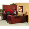 Mayline Luminary Series Wood Veneer Credenza Shell, 72w x 20d x 29h, Cherry (MLNCR2072C)