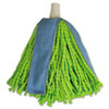 Quickie Lysol Cone Mop Supreme Refill, Green/Blue (QCK590941M)