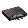 Brecknell Portable Electronic Utility Bench Scale, 250lb Capacity, 12 x 10 Platform (SBWGP250)