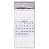 At-A-Glance Recycled Scenic 3-Month Wall Calendar, 12 1/4 x 27 (AAGDMW50328)