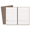At-A-Glance Planning Notebook With Reference Calendar, Gray, 6 x 9 (AAG70621030)