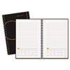 At-A-Glance Planning Notebook With Reference Calendar, Black, 6 x 9 (AAG70621005)