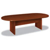 Basyx BL Laminate Series Oval Conference Table, 96w x 44d x 29-1/2h, Medium Cherry (BSXBLC96VA1A1)