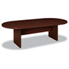 Basyx BL Laminate Series Oval Conference Table, 96w x 44d x 29-1/2h, Mahogany (BSXBLC96VNN)