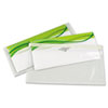 Quality Park EnvyPak Envelopes, #10, Redi-Strip, Clear, 25/Box (QUA45610)