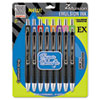 Zebra Zmulsion EX Ballpoint Pen, 1 mm, Assorted, 8/Pk (ZEB34208)