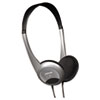 Maxell HP-200 Stereo Headphones, Silver (MAX190318)