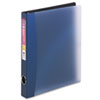 Avery Easy Access Round Ring Reference Binder, 1 Capacity, Dark Blue (AVE15809)