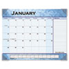 At-A-Glance Recycled Slate Blue Desk Pad, 22 x 17 (AAG89701)