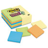 Post-It Notes Super Sticky Office Pack, 3 x 3, Four Colors, 24 90-Sheet Pads/Pack (MMM65424SSCYN)