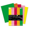Wausau Paper Astrobrights Colored Card Stock, 65 lbs., 8-1/2 x 11, Assorted, 250 Sheets (WAU21003)