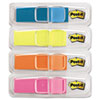 Post-It Flags Highlighting Flags, Bright Colors, 1/2 x 1 3/4, 35/Color, 4 Dispensers/Pack (MMM6834ABX)