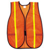 River City Polyester Mesh Safety Vest, 3/4in Lime Green Stripe (RVRV211R)