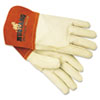 Memphis Mustang Mig/Tig Welder Gloves, Tan, Medium (MPG4950M)