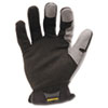 Ironclad XI Workforce Glove, Large, Gray/Black (IRNWFG04L)
