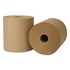 Wausau Paper Hardwound Roll Towels, 800ft x 8, Natural, 6/Carton (WAU45800)