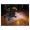 ES Robbins 45x53 Lip Chair Mat, Economy Series for Hard Floors (ESR131823)