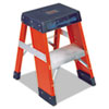 Louisville FY8000 Series Industrial Fiberglass Step Stand, 2ft (LOUFY8002)