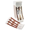 Mmf Industries Self-Adhesive Currency Straps, Brown, $5,000 in $50 Bills, 1000 Bands/Box (MMF216070I09)