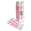 Mmf Industries Self-Adhesive Currency Straps, Pink, $250 in Dollar Bills, 1000 Bands/Box (MMF216070E13)