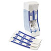 Mmf Industries Self-Adhesive Currency Straps, Blue, $100 in Dollar Bills, 1000 Bands/Box (MMF216070C08)