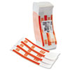 Mmf Industries Self-Adhesive Currency Straps, Orange, $50 in Dollar Bills, 1000 Bands/Box (MMF216070B16)
