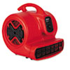 Electrolux Sanitaire Commercial Three-Speed Air Mover, 1/2 hp Motor, 20 Ibs, Red/Black (EUKSC6053)