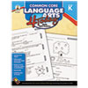 Carson-Dellosa Publishing Common Core 4 Today Workbook, Language Arts, Kindergarten, 96 pages (CDP104595)