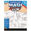 Carson-Dellosa Publishing Common Core 4 Today Workbook, Math, Grade 3, 96 pages (CDP104592)