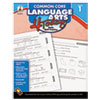 Carson-Dellosa Publishing Common Core 4 Today Workbook, Language Arts, Grade 1, 96 pages (CDP104596)