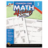 Carson-Dellosa Publishing Common Core 4 Today Workbook, Math, Grade 5, 96 pages (CDP104594)