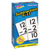 Trend Skill Drill Flash Cards, 3 x 6, Subtraction (TEPT53103)