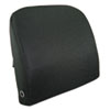 Advantus Memory Foam Massage Lumbar Cushion, 12-3/4w x 3-1/2d x 12-1/2h, Black (AVT602804MH05)
