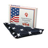Advantus All-Weather Outdoor U.S. Flag, Heavyweight Nylon, 4 ft. x 6 ft. (AVTMBE002220)