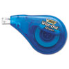 BIC Wite-Out EZ Correct Correction Tape, Non-Refillable, 1/6 x 472, 2/Pack (BICWOTAPP21)
