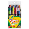 Crayola Twistables Mini Crayons, 24 Colors/Pack (CYO529724)