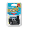 Brother P-Touch M Series Tape Cartridge for P-Touch Labelers, 1/2w, Black on Blue (BRTM531)