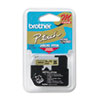 Brother P-Touch M Series Tape Cartridge for P-Touch Labelers, 3/8w, Black on Gold (BRTM821)