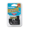 Brother P-Touch M Series Tape Cartridge for P-Touch Labelers, 1/2w, Black on Gold (BRTM831)