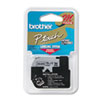 Brother P-Touch M Series Tape Cartridge for P-Touch Labelers, 1/2w, Black on Silver (BRTM931)